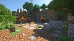 Little Mine + Pretty Little House Minecraft Map & Project