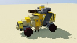 Light Attack Vehicle Minecraft Map & Project