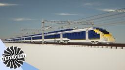 Eurostar e320 British Rail Class 374   DOWNLOAD Minecraft Map & Project