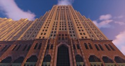 Fisher Building, Detroit Minecraft Map & Project