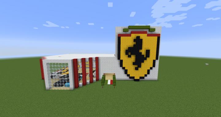 Ferrari Dealership Minecraft Map