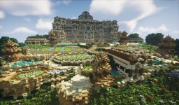 Old Wood Mansion Minecraft Map & Project