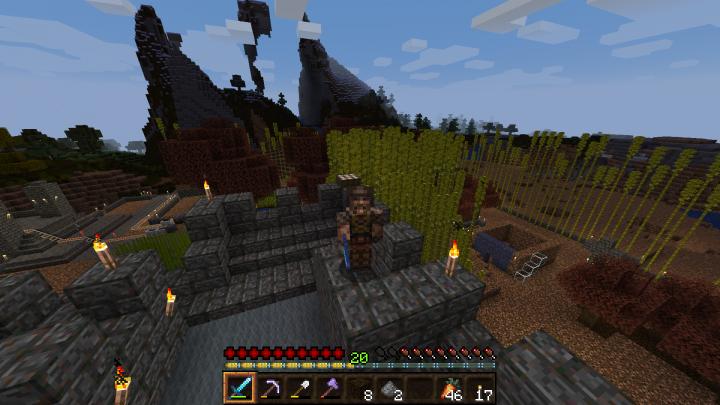Quake Ranger on a castle