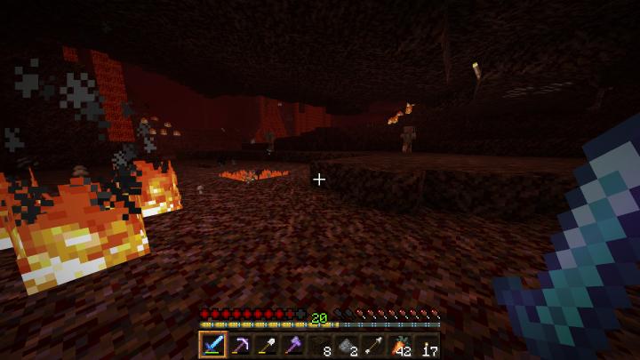 Burning Netherrack
