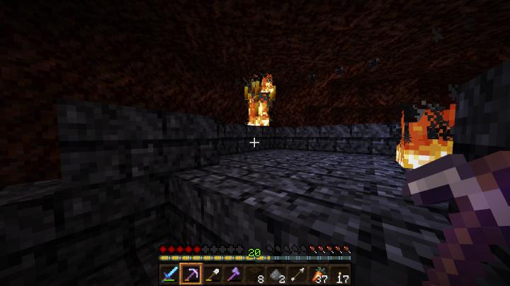 A Blaze in its natural habitat