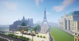 Sześcianowo City French District Minecraft Map & Project
