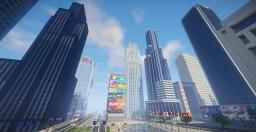 Sześcianowo City Downtown 2 Minecraft Map & Project