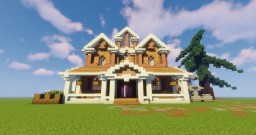 Suburban Villa Entry for The Valley of Talented Minecraft Map & Project