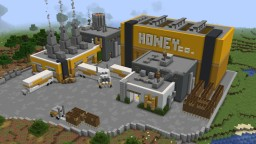 Minecraft 1.15 Honey Factory Minecraft Map & Project