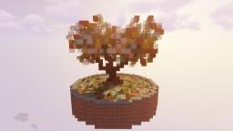 Little Autumn Tree | Minecraft Timelapse Minecraft Map & Project