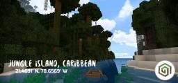 Jungle Island, Caribbean [PE - MAP] Minecraft Map & Project