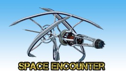 Space Encounter [Avalon Spaceship,Martian space base] Minecraft Map & Project