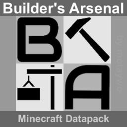 Builder's Arsenal Minecraft Data Pack