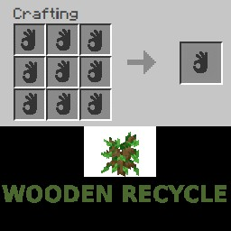 Nice Recipes (Wooden Recycle Update!) Minecraft Data Pack