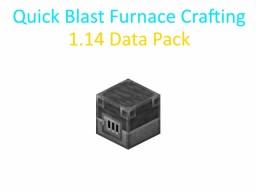 Quick Blast Furnace Crafting 1.14 Data Pack Minecraft Data Pack