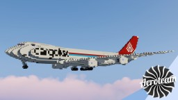 Boeing 747-8F | DOWNLOAD Minecraft Map & Project