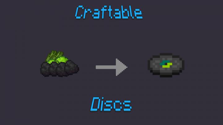 Craftable Record Discs Mod Minecraft 1122 Minecraft Mod