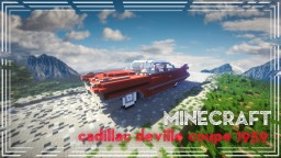 Cadillac deville Coupe 1959 Minecraft Map & Project