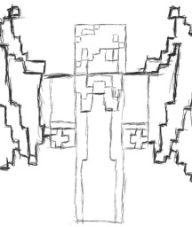 This is project draw Minecraft Map & Project
