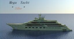 "Mega Yacht ""Dilbar"" Minecraft Map & Project"