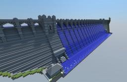 Vyrnwy Dam, Wales Minecraft Map & Project