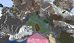 Sakura Garden with mini Zen garden Minecraft Map & Project