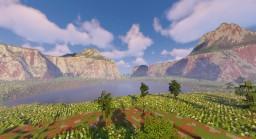 Rainbow Plateau Minecraft Map & Project