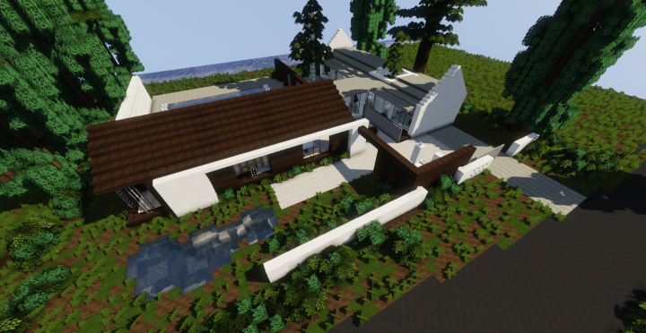 Ranch Barn Conversion Modern House Minecraft Project