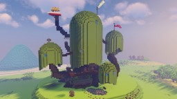 Adventure Time Land of OOO Minecraft Map & Project