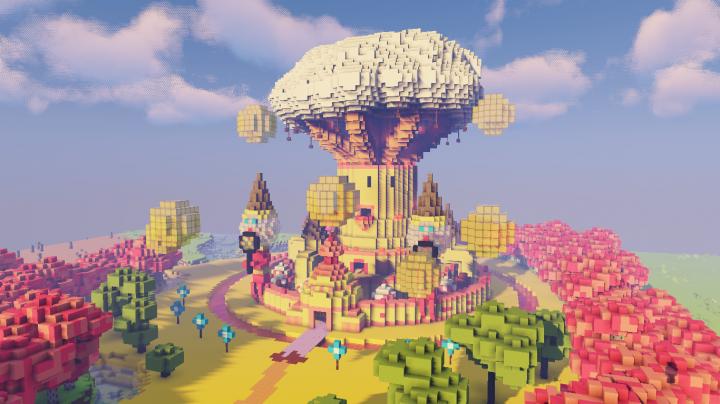 Candy Kingdom w Shaders