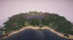 Jungle Castaway survival spawn v1.1 Minecraft Map & Project