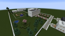 Japanese School and Town Minecraft Map & Project