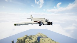 "Junkers Ju-52/3m ""Auntie Ju"" Minecraft Map & Project"