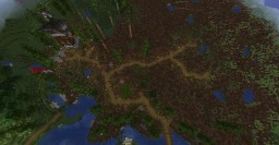 Temperate forest [Custom biome] Minecraft Map & Project