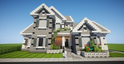 "Suburban house ""Roselle"" Minecraft Map & Project"