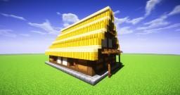 Japanese Minka (1:1 Scale) Minecraft Map & Project