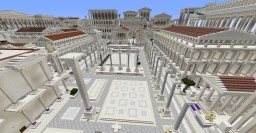 Classical Forum (work in progress) in color Minecraft Map & Project