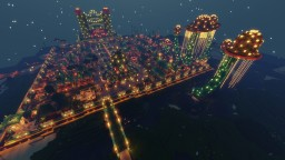 Coral Castle and City by Funtazer Minecraft Map & Project
