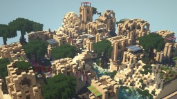 Middle Eastern Town: Varaqqez [Schematic Available!] Minecraft Map & Project