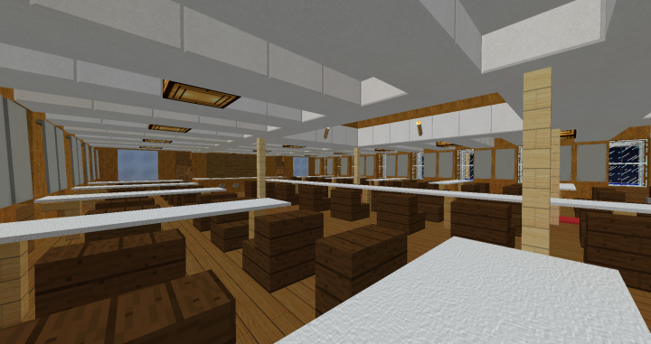 1st class dining room
