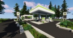 Gas Station | Dalewood Minecraft Map & Project