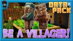 [Minecraft 1.14] Be a Villager Data Pack! (17 ABILITIES) Minecraft Data Pack