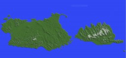 Sardinia and Corsica Minecraft Map & Project