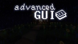 Advanced GUI 1.14 - 1.16 [Vanilla & Optifine Editions] Minecraft Texture Pack