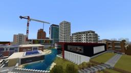 Cornerbrooke, suburb of Herchepshire (fictional city) Minecraft Map & Project