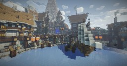 Nordic Island Town Minecraft Map & Project