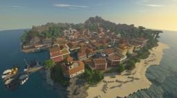 ISLA FANTA - South ocean island - Minecraft Map & Project