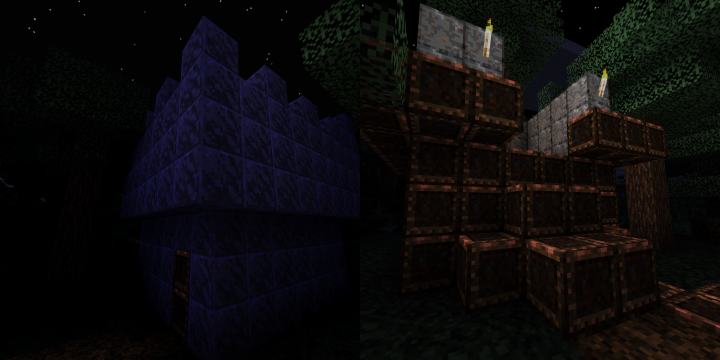 New Lapis Block and Iron Block