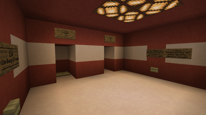 Room to let players select who's fighting and a feature to randomly select who's going to fight.