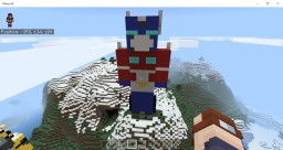Optimus Prime Statue (G1) Minecraft Map & Project